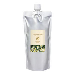 カモミールウォーター (カミツレ水) 500ml 自然化粧品研究所  (フローラルウォーター スキンケア 化粧水)|naturalcosmetic