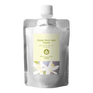 オレンジフラワーウォーター (ネロリウォーター) オーガニック 100ml (詰替え用) (メール便選択可) (スキンケア 化粧水 ローション)|naturalcosmetic