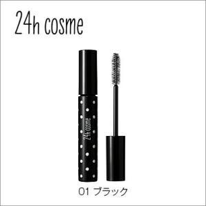 24hcosme アイドルアイラッシュ スーパーボリューム 01ブラック 7g 【ボリュームマスカラ...