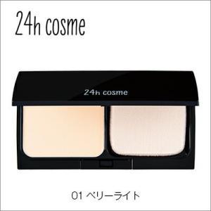 24hcosme ミネラルパウダーファンデセット 01ベリーライト 11g SPF45PA+++ 【...