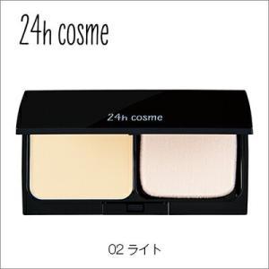 24hcosme ミネラルパウダーファンデセット02ライト 11g SPF45PA+++【ミネラルフ...