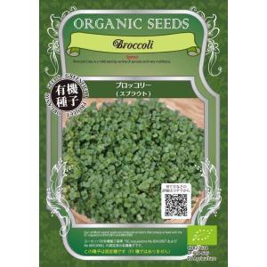 【種】オーガニックブロッコリースプラウト 5袋セット (送料無料)