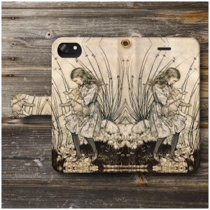 iPhoneSE ケース スマホケース 手帳型 あいふぉん 絵画 全機種対応 ケース 人気 ケース ...