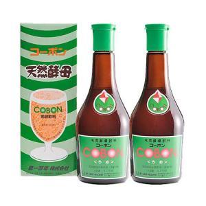 コーボン 梅(うめ)525ml×2本セット  第一酵母 cobon 天然酵母飲料 コーボンうめ|natures