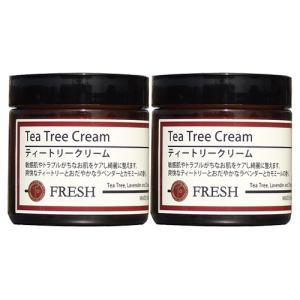 ティートリークリーム 60g×2個セット (ティーツリークリーム)  フレッシュアロマ|natures