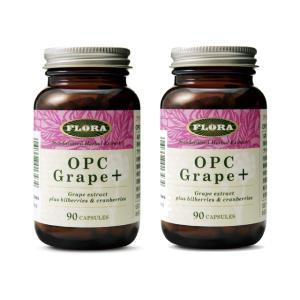 OPCグレープ+(プラス) 90カプセル×2個セット (OPCグレーププラス)  |natures