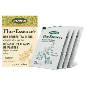フローエッセンスプラス ドライ 1箱(4袋入り)(粉末タイプ)FLORA(フローラ) ハーブクレンズ(送料無料)|natures