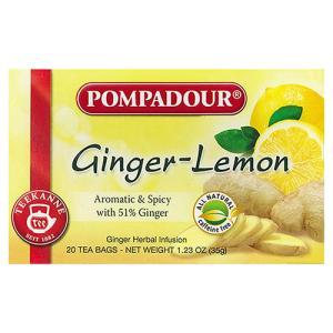 ポンパドール ジンジャー&レモン 20TB POMPADOURハーブティー20袋入 |natures