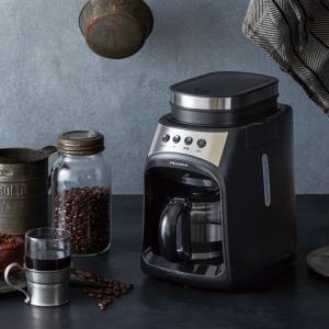 ギフトにも 挽きたての香りが楽しめるコーヒーメーカー名称:コーヒーメーカー  材質:本体:PP・ステ...