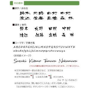 表札 「ラ・モード リザーラ」ステンレス おしゃれな漢字におしゃれなローマ字|naturulu|06