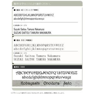 表札「リーフシンプル」シンプルなリーフ柄 ステンレス製|naturulu|04