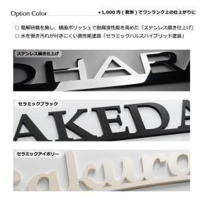 表札「タイプA アレンジ」全7種 デザイン表札が続々登場|naturulu|08
