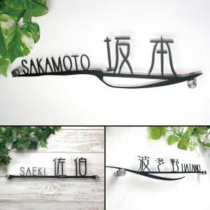 表札「タイプK」全6種 デザイン性の高い金文体で登場|naturulu