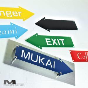 西海岸スタイル「the U.S. Style」アメリカンな表札 ステンレス カラフル おしゃれ|naturulu