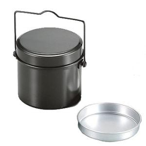 キッチンツール キャプテンスタッグ 林間 丸型ハンゴー(4合炊き)