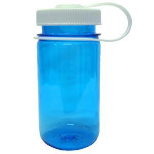 水筒・ボトル・ポリタンク ナルゲン 広口丸ループ付380ml Tritan ブルー naturum-od