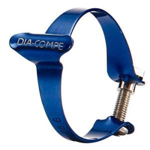 自転車用品 DIACOMPE ケーシングクリップ BLU
