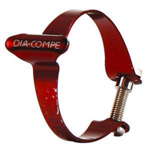 自転車用品 DIACOMPE ケーシングクリップ RED
