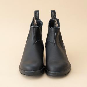 アウトドアブーツ・長靴 ブランドストーン 21秋冬  ORIGINALS BS510 スムースレザー サイドゴアブーツ 8 ボルタンブラック naturum-od