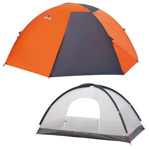 15日限定ほぼ全品P5倍 新入荷 流行 テント お見舞い ファイントラック カミナドーム2 OG×GY オレンジ×グレー 2人用