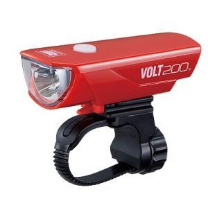 自転車アクセサリー キャットアイ HL-EL151RC VOLT200 USB充電ライト RD レッド の商品画像 ナビ