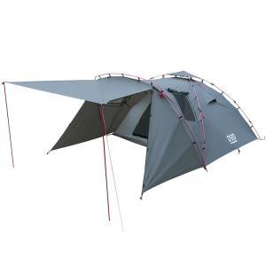 テント DOD ライダーズタンデムテント バイク乗り最適キャンプテント ブラック|naturum-od
