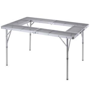 ■納期:即納 ■カラー:シルバー ■ジャンル:アウトドアテーブル・チェア・スタンド/アウトドアテーブ...