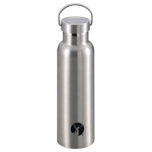 水筒・ボトル・ポリタンク キャプテンスタッグ HDボトル600 0.6L シルバー|naturum-od