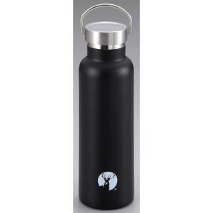 水筒・ボトル・ポリタンク キャプテンスタッグ HDボトル600 0.6L ブラック|naturum-od