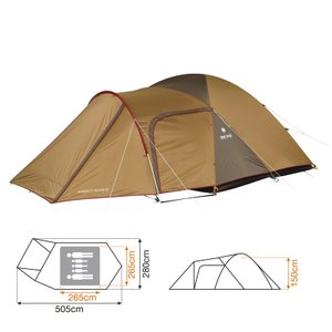 ■納期:即納 ■サイズ:M ■ジャンル:テント・タープ/テント/ファミリードームテント ■メーカー:...