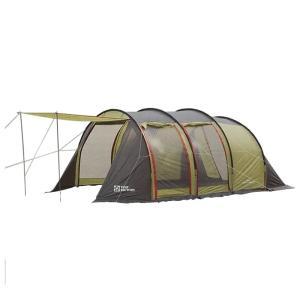 テント TENT FACTORY トンネル2ルームテント ロング 専用グランドシート付き グラスファイバー|naturum-od