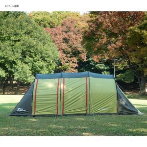 テント TENT FACTORY トンネル2ルームテント ロング 専用グランドシート付き グラスファイバー|naturum-od|02