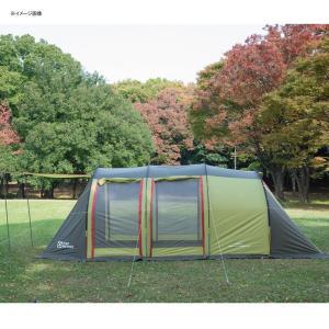 テント TENT FACTORY トンネル2ルームテント ロング 専用グランドシート付き グラスファイバー|naturum-od|11