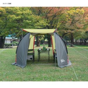 テント TENT FACTORY トンネル2ルームテント ロング 専用グランドシート付き グラスファイバー|naturum-od|14