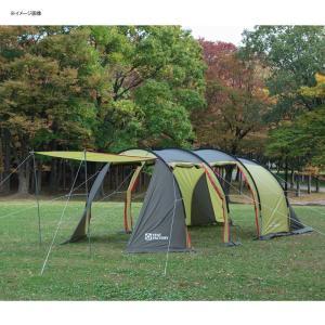 テント TENT FACTORY トンネル2ルームテント ロング 専用グランドシート付き グラスファイバー|naturum-od|06
