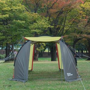 テント TENT FACTORY トンネル2ルームテント ロング 専用グランドシート付き グラスファイバー|naturum-od|07
