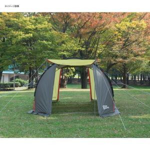 テント TENT FACTORY トンネル2ルームテント ロング 専用グランドシート付き グラスファイバー|naturum-od|09