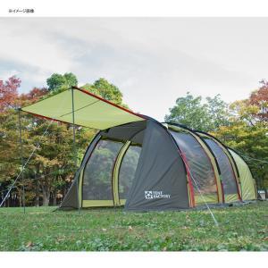 テント TENT FACTORY トンネル2ルームテント ロング 専用グランドシート付き グラスファイバー|naturum-od|10