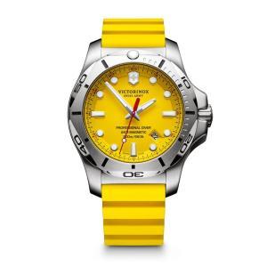 アウトドアウォッチ 時計 高い素材 ビクトリノックス 豊富な品 I.N.O.X. PROFESSIONAL DIVER イエロー
