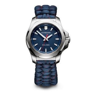 <title>アウトドアウォッチ 時計 ビクトリノックス I.N.O.X. 迅速な対応で商品をお届け致します V ブルー</title>