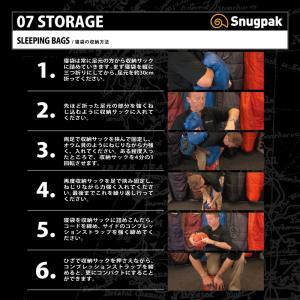 マミー型シュラフ スナグパック ノーチラス マミー ライトハンド 下限-2度 テレインカモ|naturum-od|09