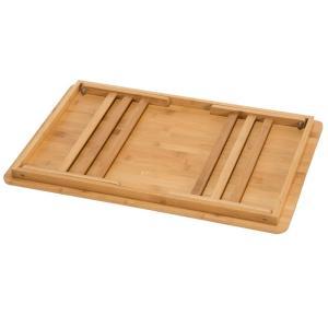 アウトドアテーブル BUNDOK バンブーテーブル60 ウッド|naturum-od|02