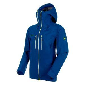 アウトドアジャケット マムート Alvier HS 送料無料激安祭 お買得 Hooded Men's L ultramarine Jacket