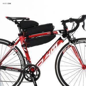 自転車バッグ ドッペルギャンガー パズルフレームバッグ ブラック naturum-od 04