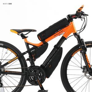 自転車バッグ ドッペルギャンガー パズルフレームバッグ ブラック naturum-od 05