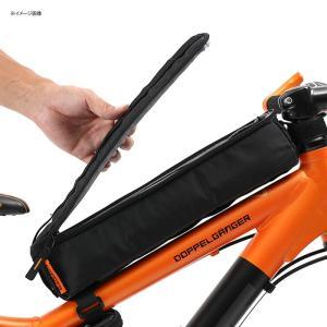 自転車バッグ ドッペルギャンガー パズルフレームバッグ ブラック naturum-od 06