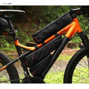 自転車バッグ ドッペルギャンガー パズルフレームバッグ ブラック naturum-od 07