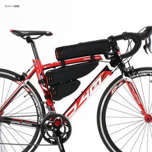 自転車バッグ ドッペルギャンガー パズルフレームバッグ ブラック naturum-od 08