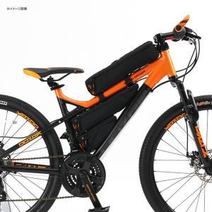 自転車バッグ ドッペルギャンガー パズルフレームバッグ ブラック naturum-od 09