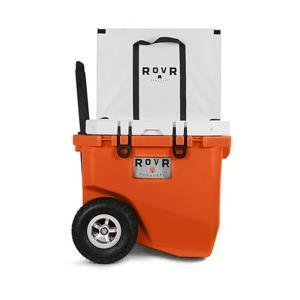 <title>キャンプクーラー ローバ ついに再販開始 ROVR RollR 45 45QT 42.5L Desert</title>